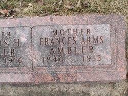 Frances <i>Arms</i> Ambler