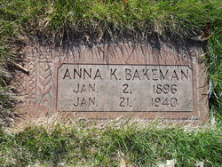 Anna K. Bakeman