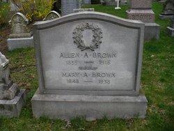 Allen A Brown