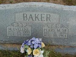 Perry M Baker, Sr