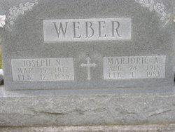 Marjorie Ann Margie <i>Schindler</i> Weber