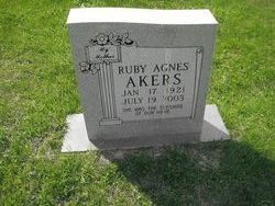 Ruby Agnes Akers