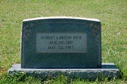 Robert Lawson Rice