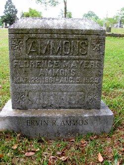 Mary Florence <i>Blackman</i> Ammons