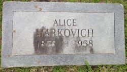 Alice Leona <i>McCormick</i> Markovich