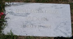 Sylvia <i>Bastin</i> Childs