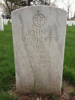 PFC John Everette McVicker