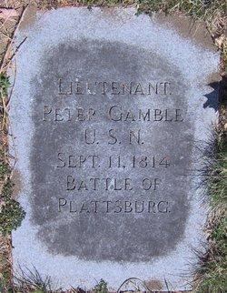 Lieut Peter Gamble