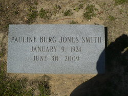 Pauline Burge Polly <i>Jones</i> Smith