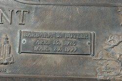 Barbara Stephens <i>Butler</i> Flint
