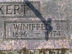 Winifred B <i>Wellons</i> Morkert