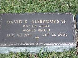 David Elmo Alsbrooks, Sr