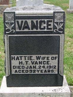 Hattie Rebecca <i>Brooks</i> Vance