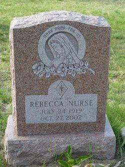 Rebecca <i>Eastman</i> Nurse