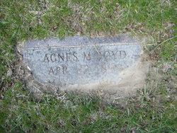 Agnes M Boyd