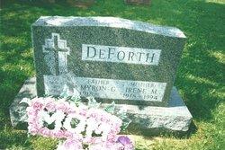 Irene M. <i>Zwicky</i> DeForth