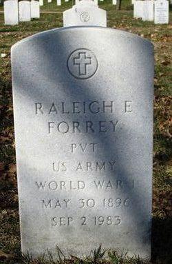 Pvt Raleigh E Forrey
