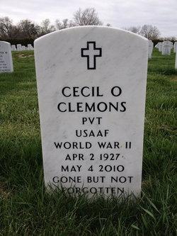 Pvt Cecil O. Clemons