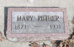 Mary Ruther