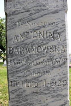 Antonina Antonia <i>Kalowa</i> Baranowski