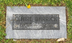 Claire <i>Wickizer</i> Barrick