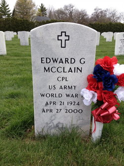 Corp Edward Grady McClain