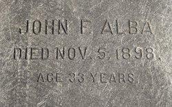 John F Alba