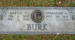 Geraldine <i>Arnold</i> Burk
