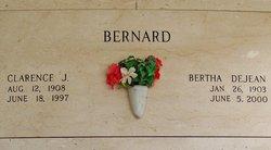Bertha <i>DeJean</i> Bernard