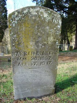 Sarrah Elizabeth <i>Howell</i> Akers