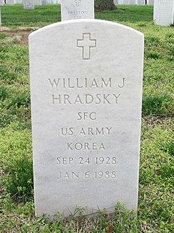 William J Hradsky