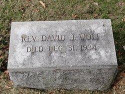 Rev David John Wolf