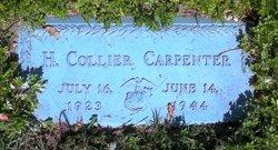 Pvt Horace Collier Carpenter