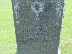 Anna E. <i>Quigley</i> Canaday