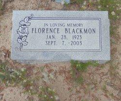 Florence Blackmon