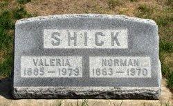 Valeria D. <i>Thayer</i> Shick