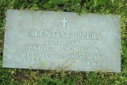 Maj Valentine Peers