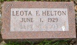 Leota Francis <i>White</i> Helton