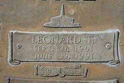 Leonard T Hill