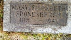 Mary Elizabeth <i>Van Eaton</i> Sponenbergh