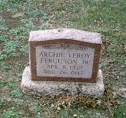 Archie Leroy Ferguson, Jr