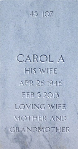 Carol A Blanchard