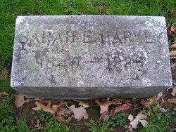 Sarah Elizabeth <i>Campbell</i> Harvey