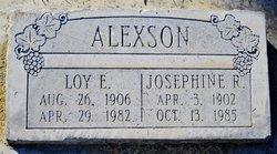 Loy E Alexson