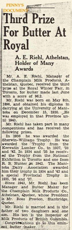 Adolph Edward Riehl