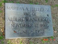 Martha Ann Mattie <i>Hillhouse</i> Anderson