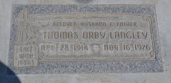 Thomas Orby Langley