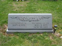 Richard H. Brown, Sr