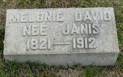 Melonie <i>Janis</i> David