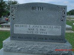 Mildred E <i>Jones</i> Aguillard